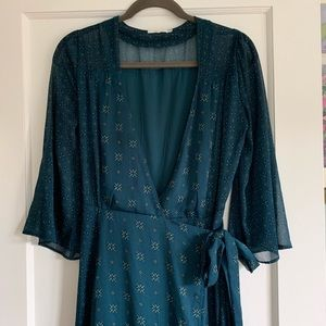 Tularosa Jolene Wrap Dress Small